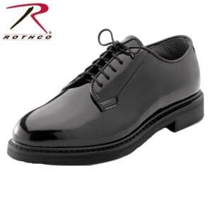 Rothco Mens Uniform Oxford High Gloss Dress Shoe