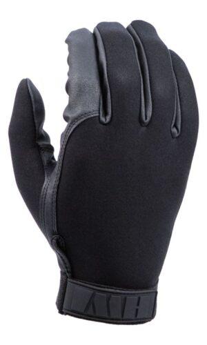 HWI Gloves, Neoprene Duty Glove, Lined, Black