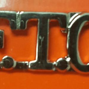 "F.T.O., 3/8"", Gold"