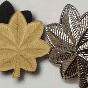 "Major Insignia, Gold, 1.5"""