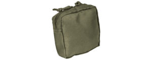 Armor Express Base Pouch, Utility, 5X5, Zip Top