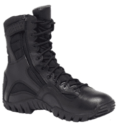 Belleville Mens Khyber Waterproof Side Zip Boot, Black