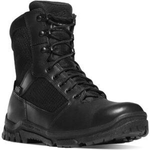 Danner Mens Lookout Side Zip Waterproof Boot, Black