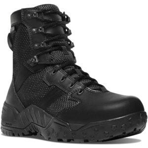 Danner Mens Scorch Side Zip Waterproof Boot, Black