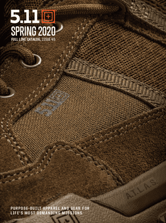 511 Tactical 2020 Catalog Cover
